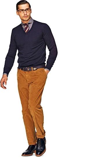 свитер с v-образным вырезом