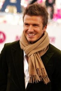 мужской шарф парижский или французский узел