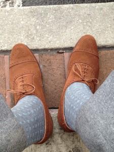 носки в цвет брюк