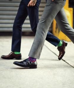 как носить мужские носки