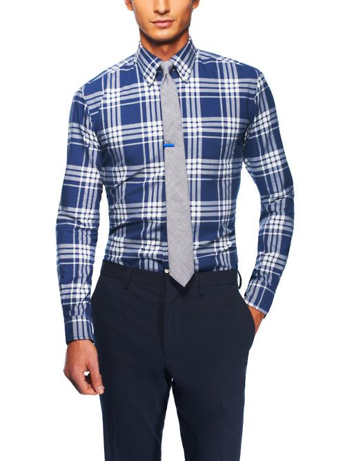 идеальный размер рубашки