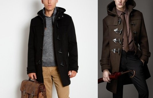 мужское пальто с формальным стилем и свитером