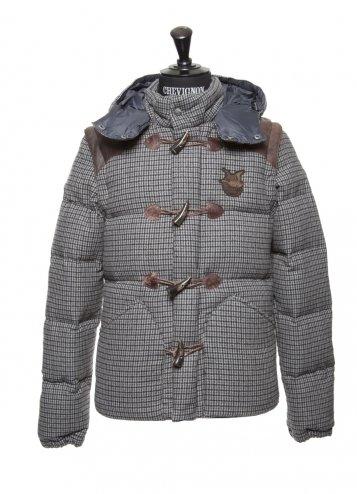 пальто с капюшоном chevignon