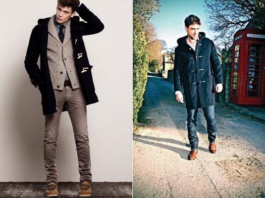 примеры луков мужского пальто