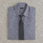 Сочетание галстука и рубашки: клетка, полоска — как комбинировать?