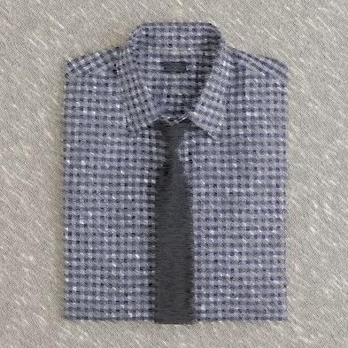 acc3af678ae Сочетание галстука и рубашки  клетка