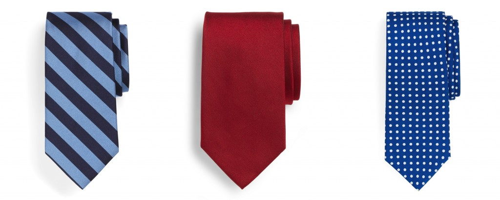 три необходимых галстука