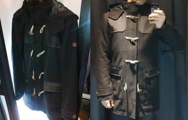 mexx пальто мужское
