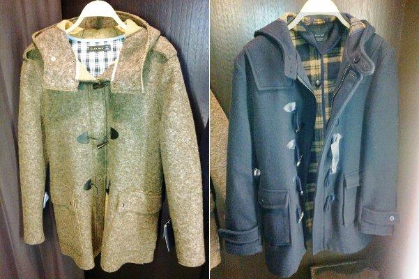 zara пальто мужское
