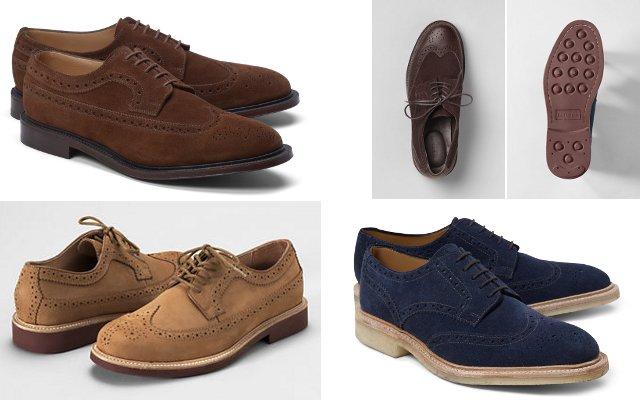 вингтипы мужская обувь на весну