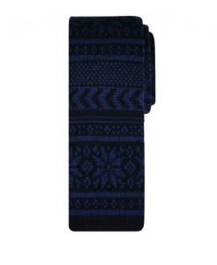 вязаный галстук