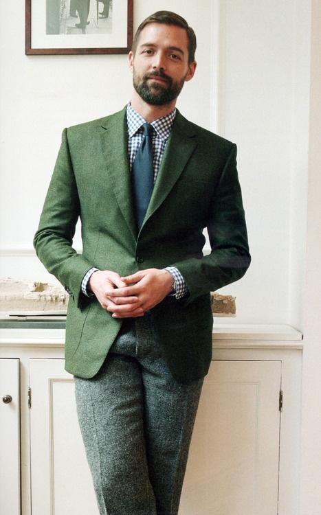 сочетание шерстяные мужские брюки 2