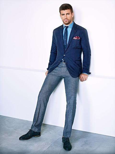сочетание шерстяные мужские брюки 1