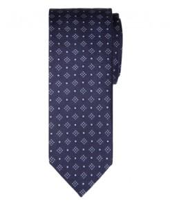 узкий шелковый галстук