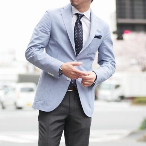 пиджак с шерстяными брюками
