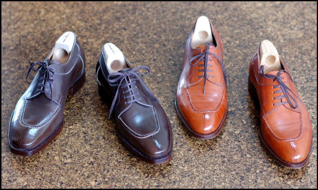оттенки коричневой обуви