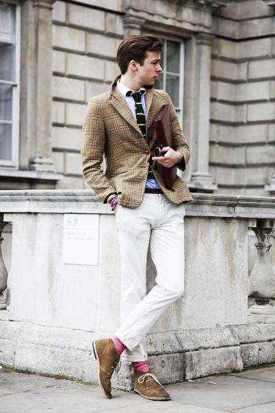 мужской укороченный спортивный пиджак