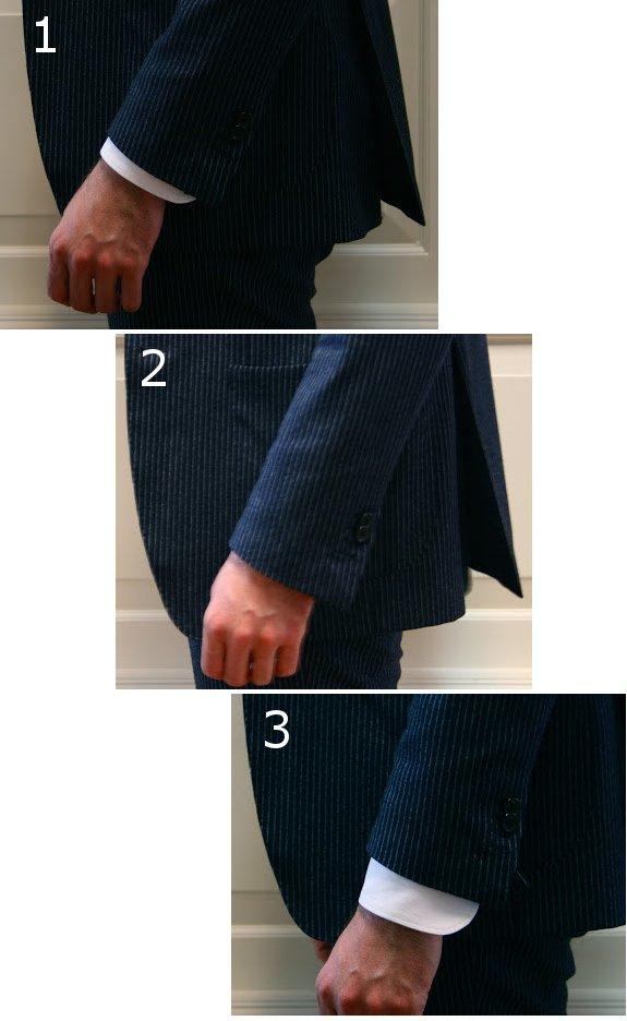 длина рукава мужской рубашки