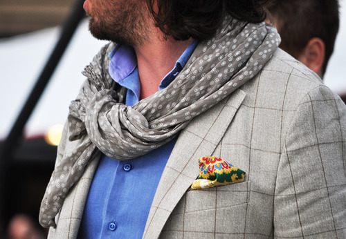 мужские аксессуары шарф и платок