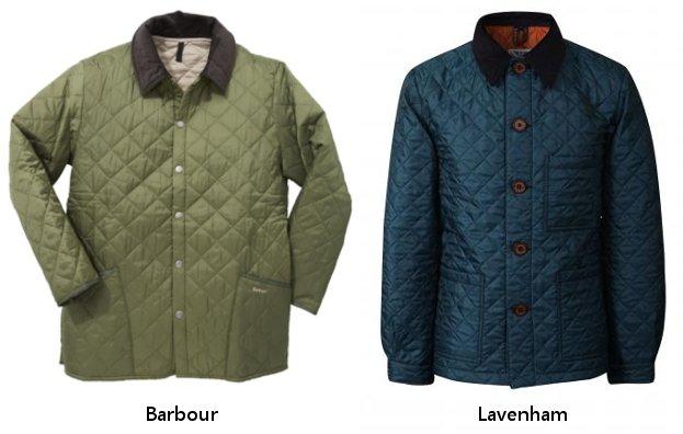 стеганые мужские куртки