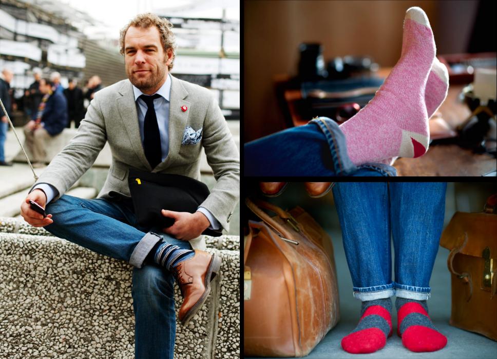 примеры цветных носков