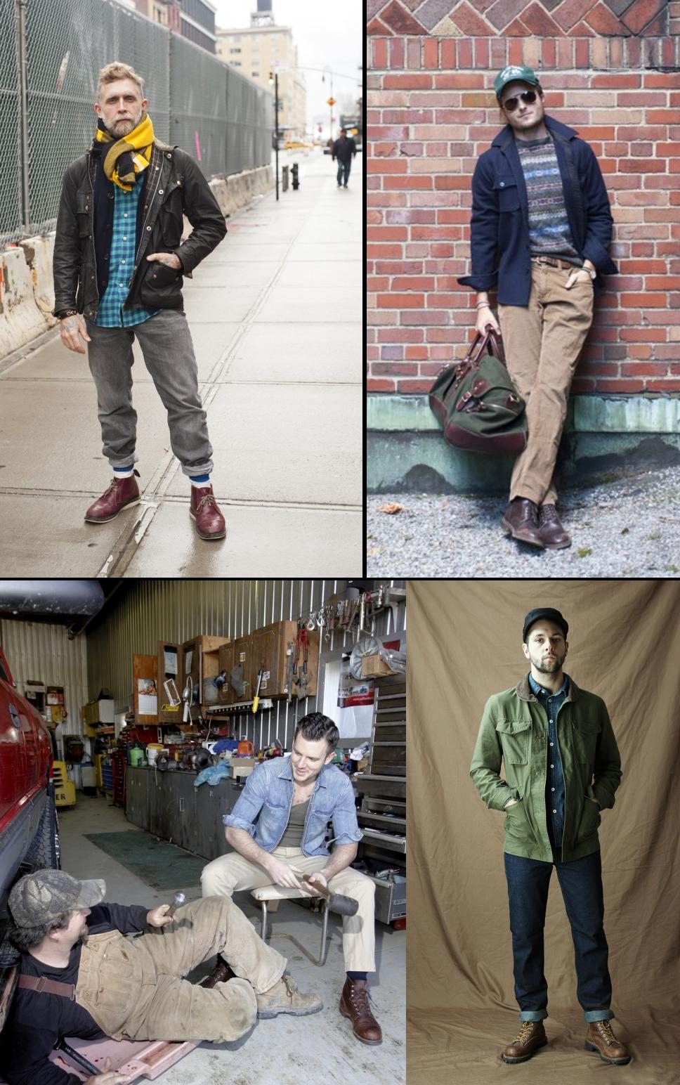 work boots примеры