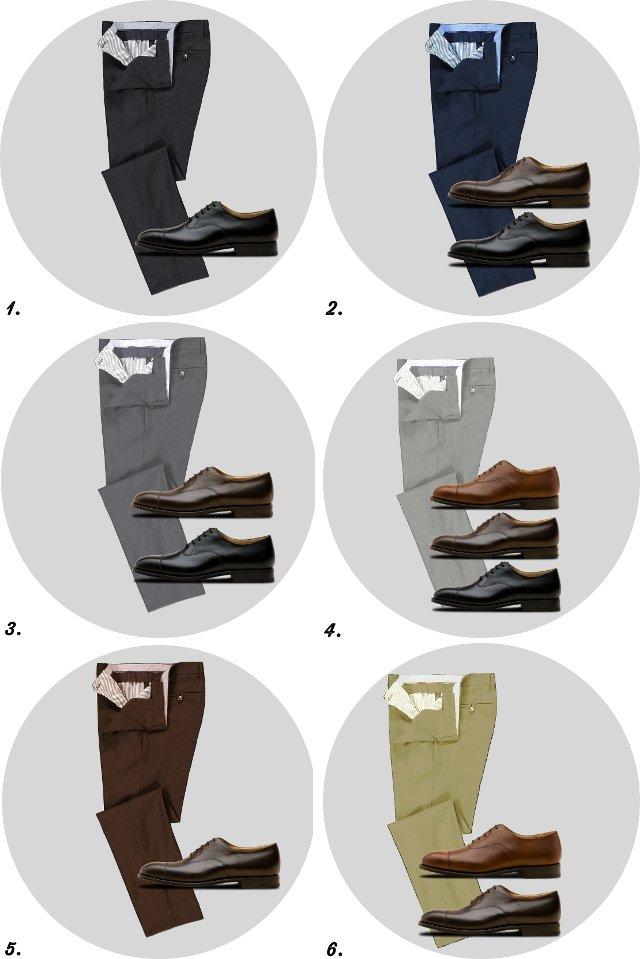 5cbad9c6b Сочетание обуви с брюками: руководство для мужчин по комбинированию ...