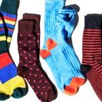 Цветные мужские носки — современный тренд в мужском стиле
