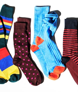 bright socks picture