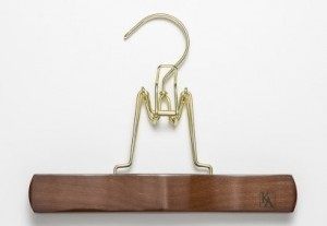 Luxury Wooden Clamping Trouser Hanger $13
