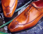 Патина на обуви. Эксперимент.