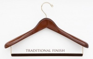 Luxury Wooden Suit Hanger $27