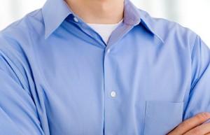 футболка под рубашкой