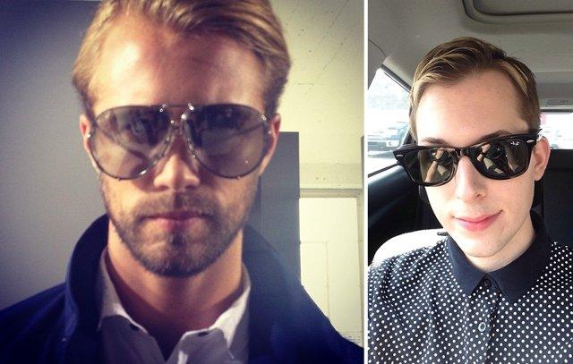 too big sunglasses