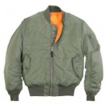 Снова милитари: куртки A-2, B-15, MA-1, в народе — «пилот» и «бомбер»