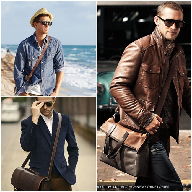 Модные сумки через плечо 2017 мужские