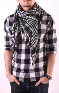 men scarf arafatka