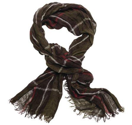 льняной шарф