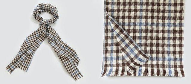 Stoffa cheked scarf