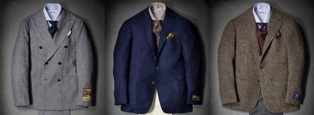 сочетание пиджака, рубашки и галстука