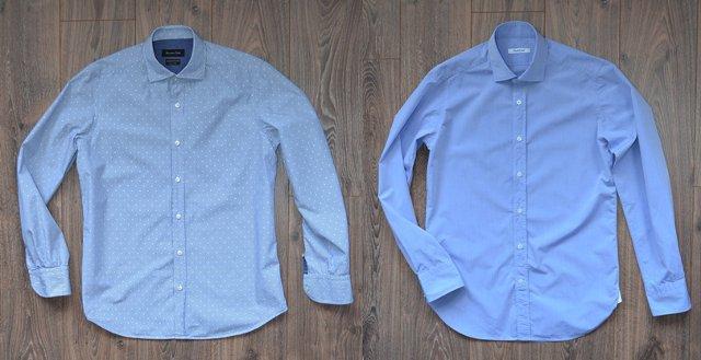 Сравнение рубашек - Massimo Dutti и Guglielminotti