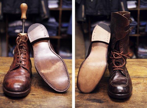 Винтажная обувь WWII