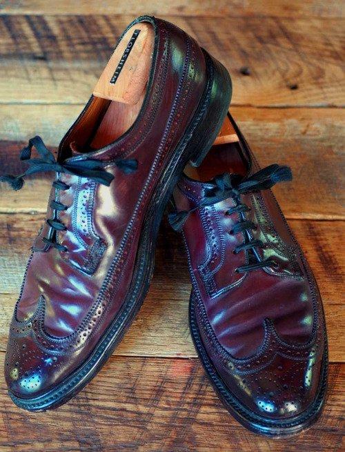 Заломы на туфлях