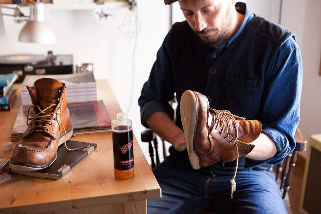 Уход за обувью - Work boots