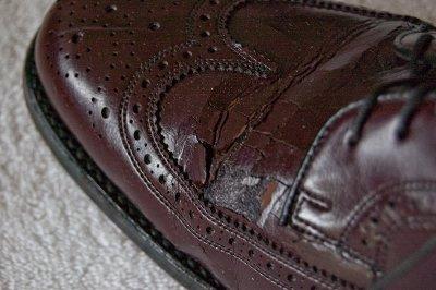 обувь - трещины на коже