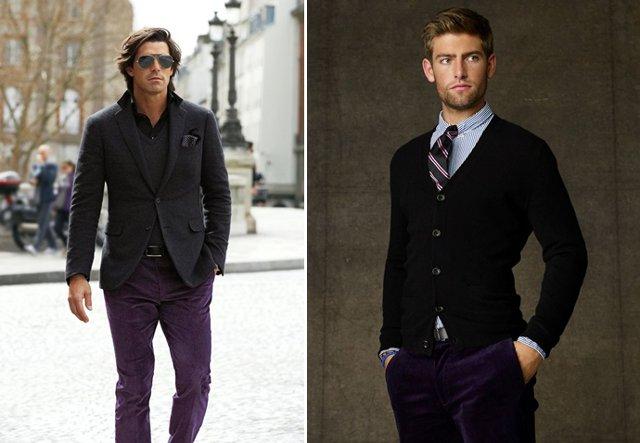 Черный и пурпурный цвета