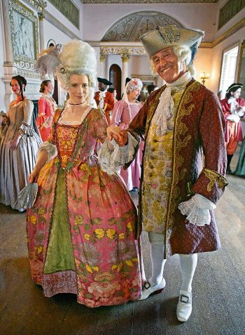 мужская мода 17-18 века