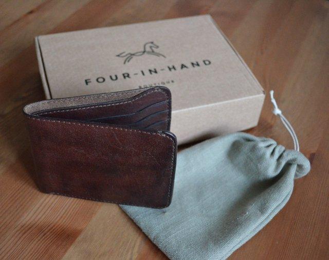 Бумажник Four-in-Hand компактный
