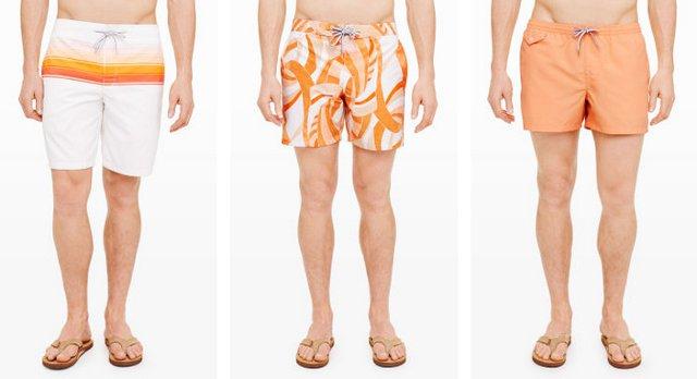 Правильная длина мужских плавок 2015