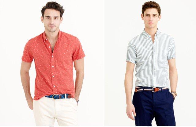 a4368aace Рубашка с коротким рукавом: уместна ли в мужском гардеробе? | Yepman ...